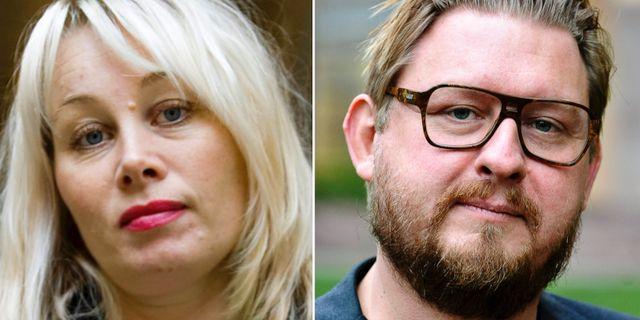 Ann Heberlein, Fredrik Virtanen, arkivbilder. TT