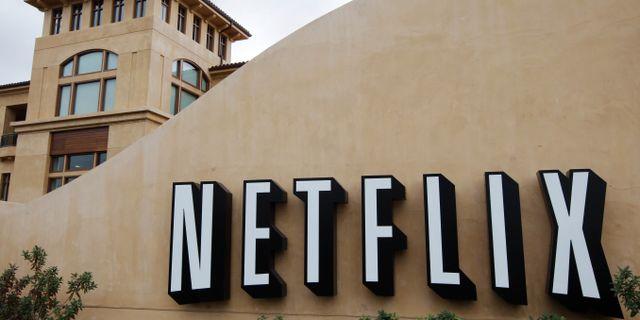Arkivbild: Netflix huvudkontor i Los Gatos, Kalifornien.  Paul Sakuma / TT NYHETSBYRÅN