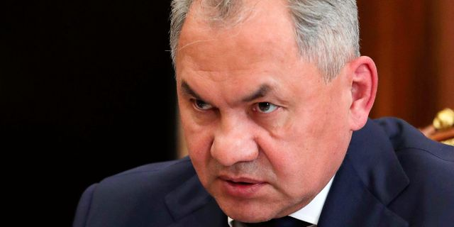 Sergei Shoigu. Mikhail Klimentyev / TT NYHETSBYRÅN/ NTB Scanpix