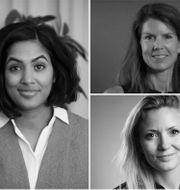Amanda Lundeteg, Linnéa Schmidt, Susanne Tillqvist och Michaela Berglund. Pressbilder