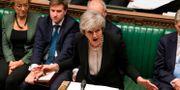 Theresa May i det brittiska parlamentet på tisdagen.  MARK DUFFY / UK PARLIAMENT