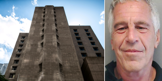 Häktet Metropolitan Correctional Center i New York/Jeffrey Epstein. TT
