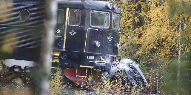 Bild från dödsolyckan. Pär Bäckström/TT / TT NYHETSBYRÅN
