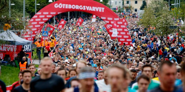 Göteborgsvarvet 2019.  Henrik Brunnsgård/TT / TT NYHETSBYRÅN