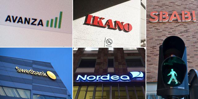 Avanza, Ikanobank och SBAB har de nöjdaste kunderna. Värre gick det för Swedbank och Nordea i undersökningen från Svenskt Kvalitetsindex. TT