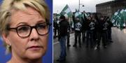 Arkivbilder. Hillevi Engström, Svenska motståndsrörelsen. TT