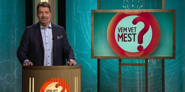 """Johan Wester, programledare för """"Vem vet mest"""". SVT"""