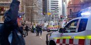 Ambulanspersonal efter dådet Rick Rycroft / TT NYHETSBYRÅN/ NTB Scanpix