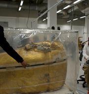 Grand Egyptian Museum blir det största museet i världen som är dedikerat till en enskild civilisation.  Maya Alleruzzo/TT