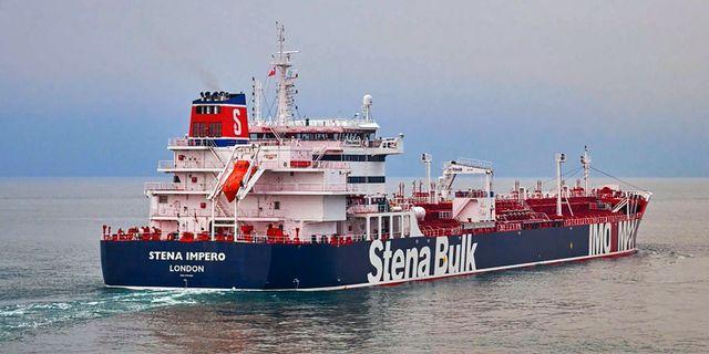 Det beslagtagna fartyget Stena Impero. Stena Bulk / TT NYHETSBYRÅN/ NTB Scanpix