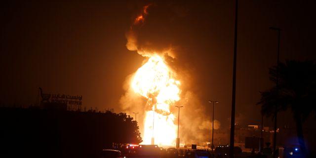 Mindre explosion utanfor rattscentrum i malmo
