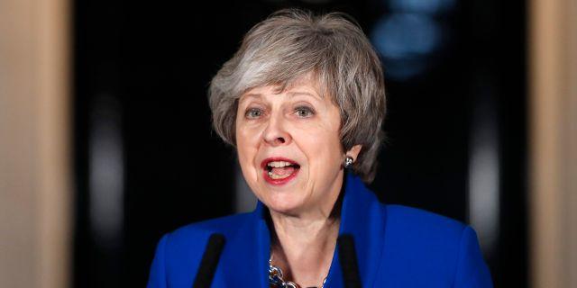 Brittiska premiärministern Theresa May. Frank Augstein / TT NYHETSBYRÅN/ NTB Scanpix