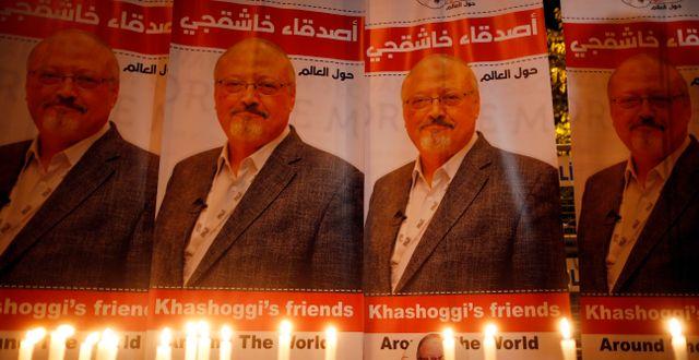 Jamal Khashoggi. Lefteris Pitarakis / TT NYHETSBYRÅN