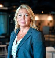 Johanna Jaara Åstrand, ordförande för Lärarförbundet. Anders Wiklund/TT / TT NYHETSBYRÅN
