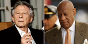 Roman Polanski (t v), Bill Cosby (t h). TT