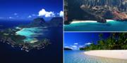 Blinky Beach, Honopu Beach och Matira Beach finns alla med på Condé Nasts lista. Wikicommons