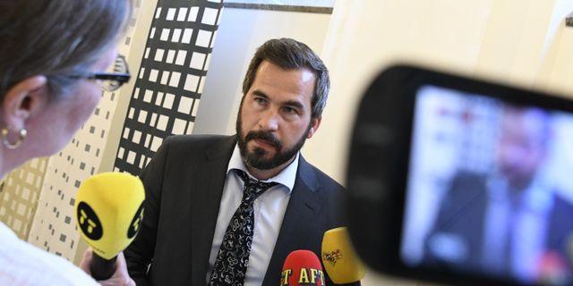 Åklagare i fallet, Rikard Darell.  Johan Nilsson/TT / TT NYHETSBYRÅN