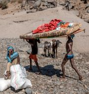 Flyktingar i Sudan som flytt från Tigray, Etiopien Nariman El-Mofty / TT NYHETSBYRÅN