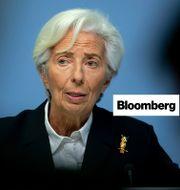 Christine Lagarde. Michael Probst/TT