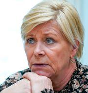 Siv Jensen.  Lise Åserud / TT NYHETSBYRÅN