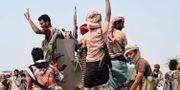 Regeringstrogna styrkor i Jemen. TT/AFP