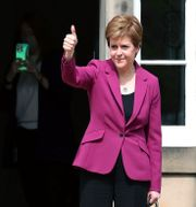 SNP-ledaren Nicola Sturgeon. Scott Heppell / TT NYHETSBYRÅN