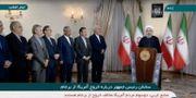 Irans president Hassan Rouhani.  REUTERS TV / TT NYHETSBYRÅN