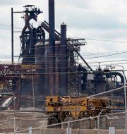 US Steels anläggning i Braddock, Pennsylvania. Gene J. Puskar / TT NYHETSBYRÅN