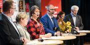 Pressträff i januari då LO-förbund tog ställning till lönekraven inför avtalsrörelsen.  Fredrik Sandberg/TT / TT NYHETSBYRÅN