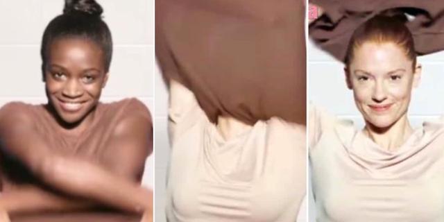 Doves reklam på Facebook har väckt starka reaktioner.  Dove. Skärmdump.