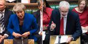 Theresa May/Jeremy Corbyn. TT
