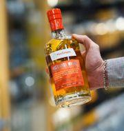 Whisky av märket Mackmyra. FREDRIK SANDBERG / TT / TT NYHETSBYRÅN