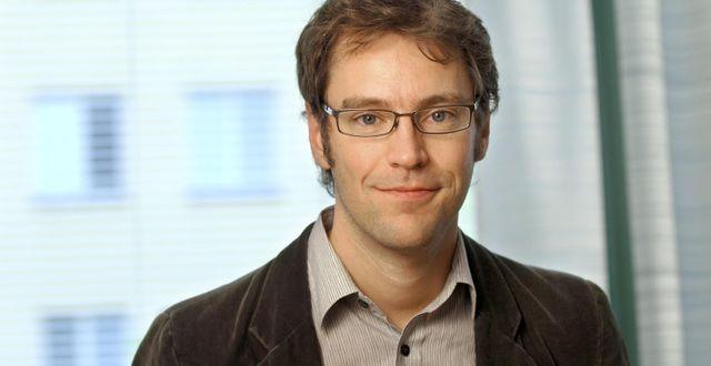 Andreas Bergh, nationalekonom och forskare vid Lunds universitet press