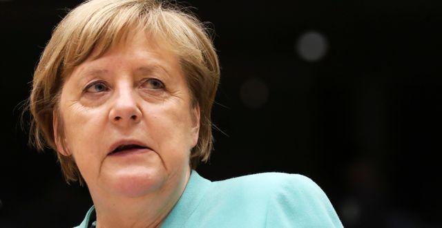 Angela Merkel. Yves Herman / TT NYHETSBYRÅN
