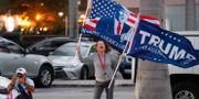 Demonstranter för Trump.  Wilfredo Lee / TT NYHETSBYRÅN
