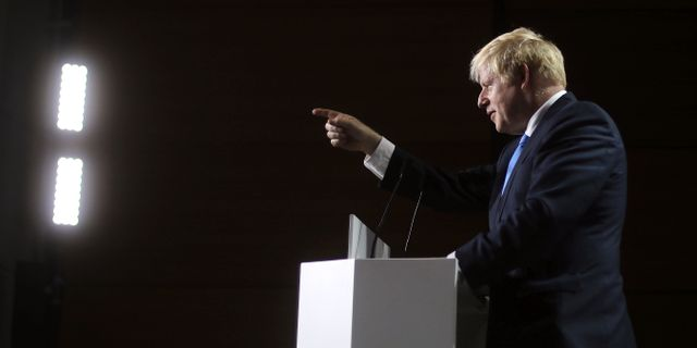 Boris Johnson. Markus Schreiber / TT NYHETSBYRÅN