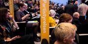 Bild från landsmötet.  Pontus Lundahl/TT / TT NYHETSBYRÅN
