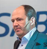 Martin Lindqvist, vd för SSAB. Arkivbild.  Fredrik Sandberg/TT / TT NYHETSBYRÅN