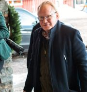Försvarsminister Peter Hultqvist (S) när han anlände till Folk och Försvars rikskonferens igår. Henrik Montgomery/TT / TT NYHETSBYRÅN