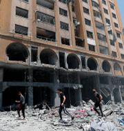 Byggnad i Gaza City Adel Hana / TT NYHETSBYRÅN