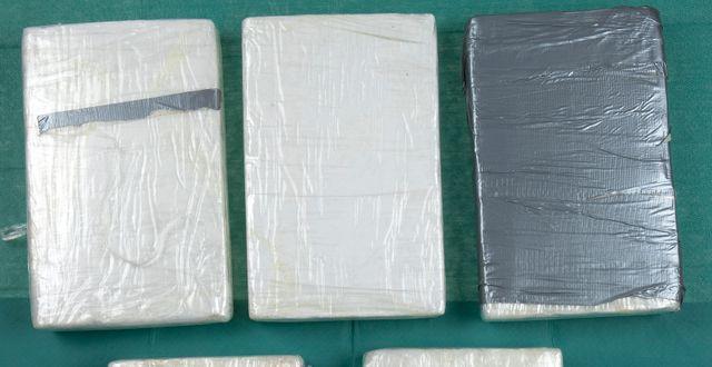 Illustrationsbild. Kokain som tagits i beslag av polisen vid ett tidigare tillfälle.  Polisen / Handout / TT NYHETSBYRÅN