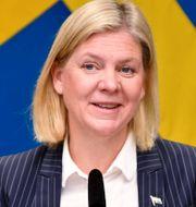 Finansminister Magdalena Andersson (S) och riksbankschef Stefan Ingves. Arkivbilder. TT