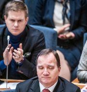 Gustav Fridolin (MP) t.v. Tomas Oneborg/SvD/TT / TT NYHETSBYRÅN