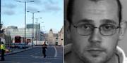 James Ford, 42, ingrep mot terroristen på London Bridge. TT