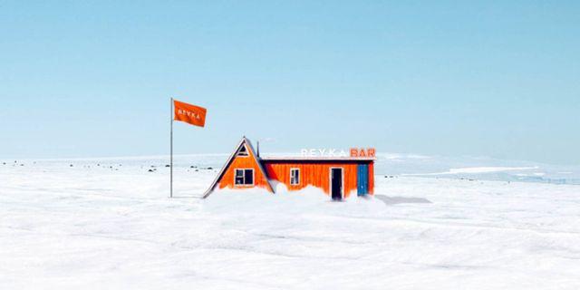 I veckan får Island en pop up-bar på toppen av glaciären Langjökull. Reyka Vodka