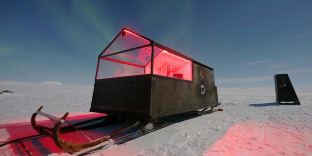 Förutsättningarna att se norrsken sägs vara optimala från Finlands nya slädhotell, som förflyttar sig beroende på var ljuset är som starkast. Off the Map Travel