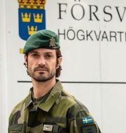 Prins Carl Philip  Henrik Lundqvist Rådmark/Försvarsmakten