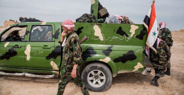 Arkivbild: Syriska regimstyrkor Baderkhan Ahmad / TT NYHETSBYRÅN