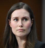 Statsminister Sanna Marin. ALAIN JOCARD / AFP