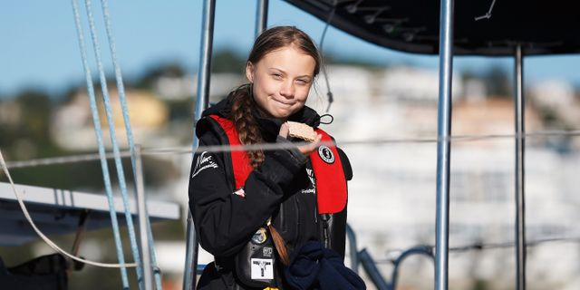 Greta Thunberg. RAFAEL MARCHANTE / TT NYHETSBYRÅN
